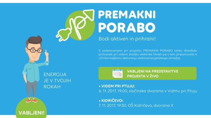 Predstavitve Projekta V živo: Videm Na Ptuju In Kidričevo!