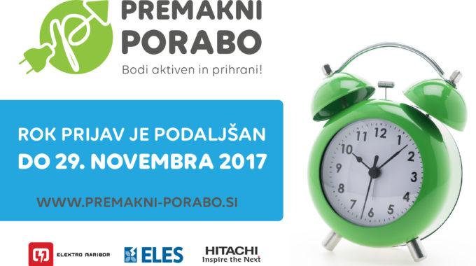Rok Prijave Podajšan Do 29. Novembra 2017